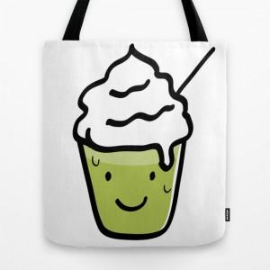 Green tea frappuccino TOTE Bag