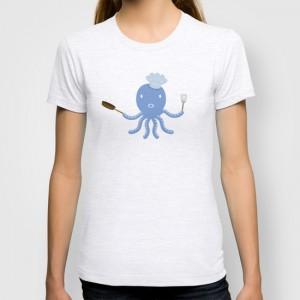 Octopus shef T-shirt